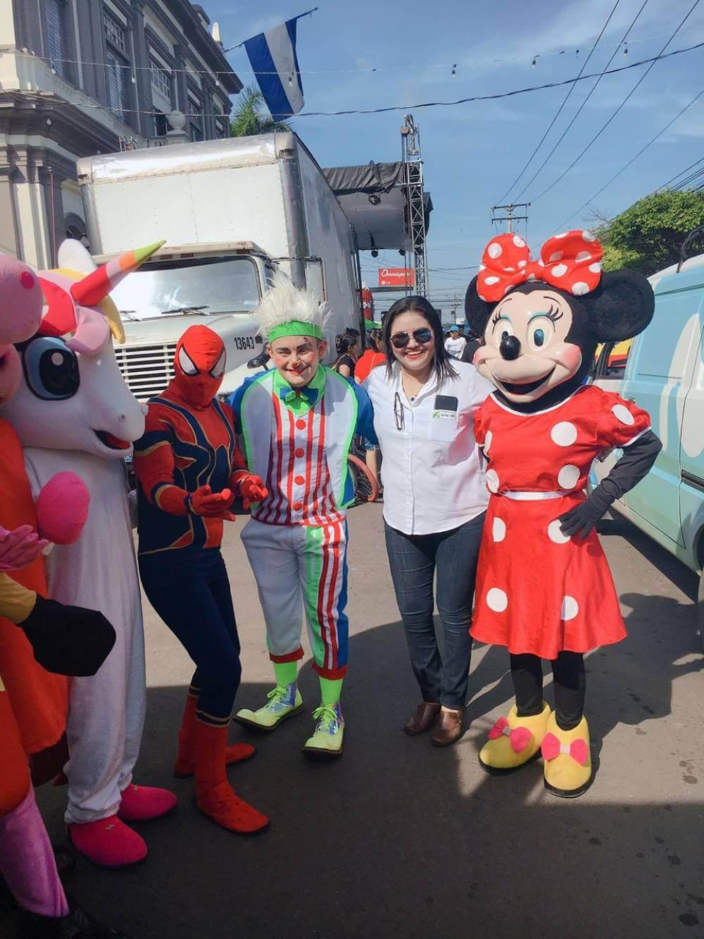 Desfile de correo de la Ciudad de Usulután