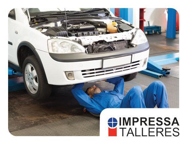 ¡Lo mejor para tu vehículo en IMPRESSA TALLERES!